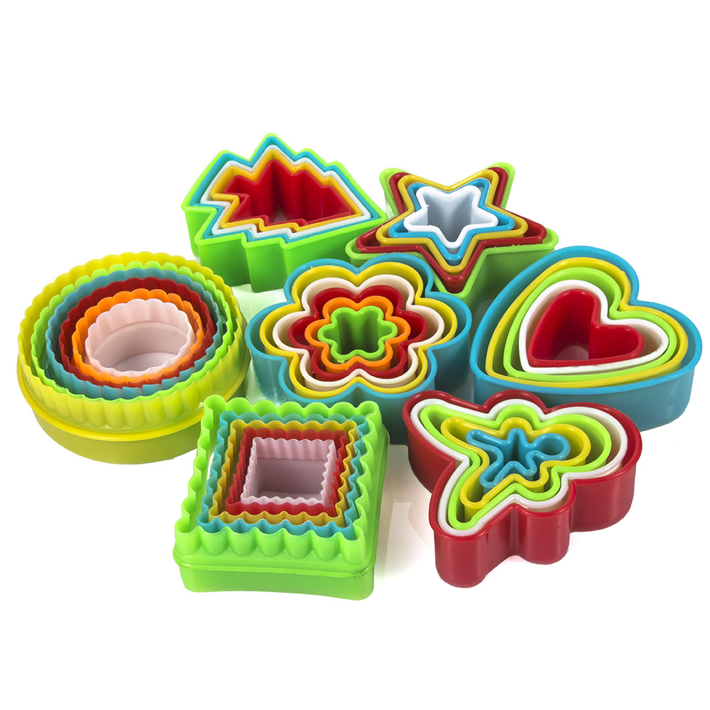 5/6pcs Cookie Cutter Cake Mold Biscuit Fondant DIY Cake Kitchen Cooking Kitchen Baking Tools Cake Cookie Mold Biscuit