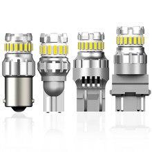 2x P21/5W BA15S P21W LED Canbus 7440 W21W W21/5W LED żarówka BAY15D światło wsteczne do samochodu dla BMW X5 E70 X6 E71 E60 E92 E53 E83 E61 E65