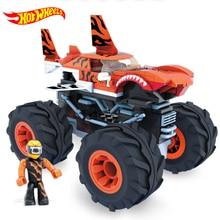 Original Hotwheels Car Kids Toys for Children Hot Wheels Car Monster Truck Grand Wheels Toys for Boys Model Car Build Blocks