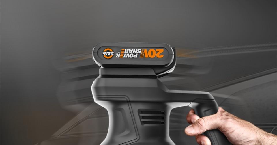 Worx 20V Electric Car Polisher Machine