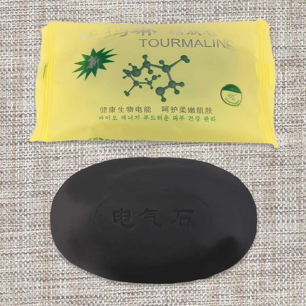 Masaż ciała turmalin bambusowa aktywna energia mydło węgiel energia mydło skoncentrowane mydło siarkowe na twarz i ciało uroda zdrowe