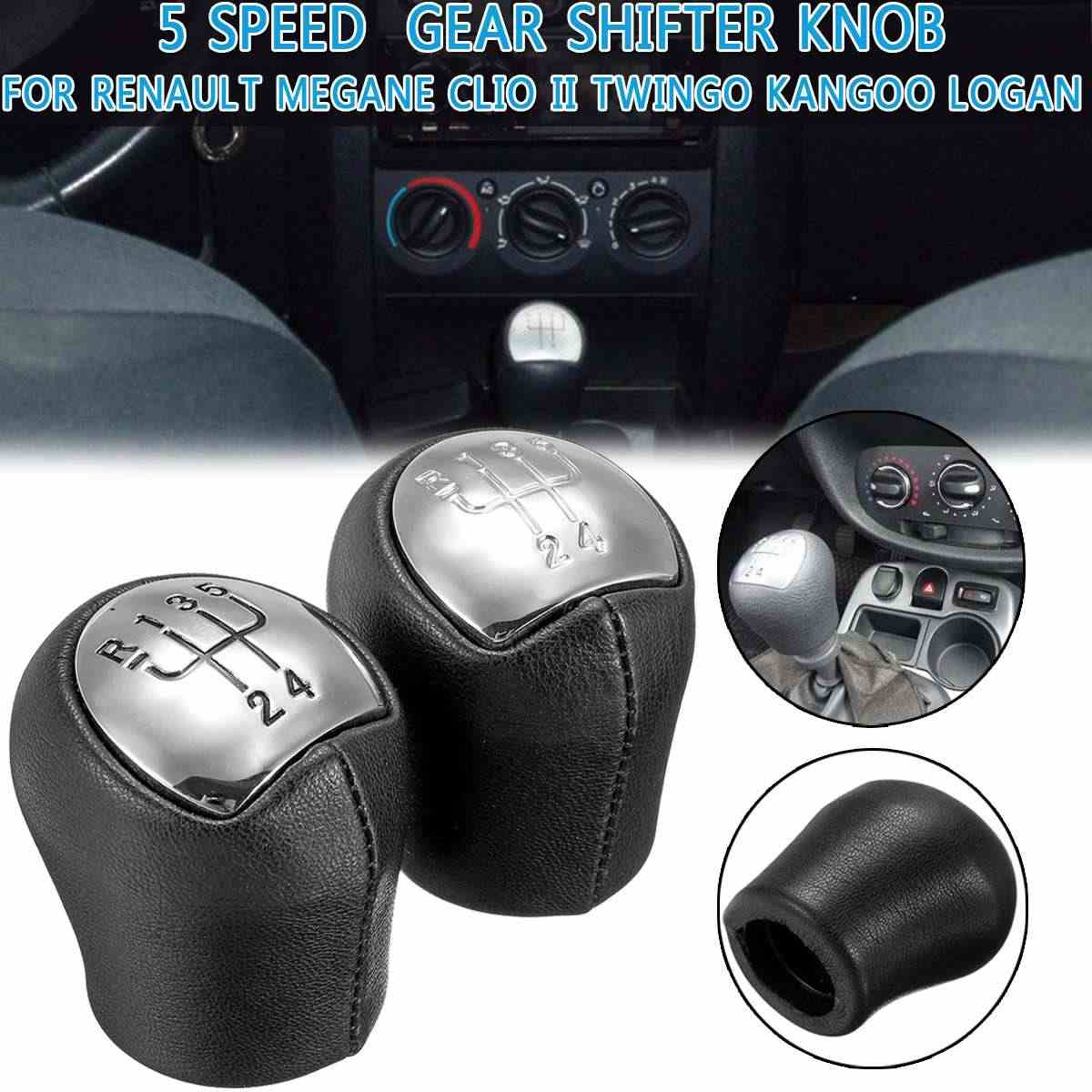 10 mm PU-Gloss Auto 5 Geschwindigkeit Handbuch Schaltknauf Shifter Universal-Automible