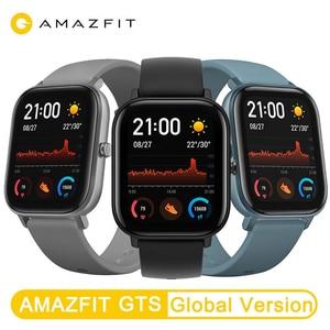 Image 5 - ใหม่Amazfit GTS Global Versionสมาร์ทนาฬิกาHuamiกลางแจ้งตำแหน่งGPSอัตราการเต้นหัวใจ5ATM Smartwatchกันน้ำ