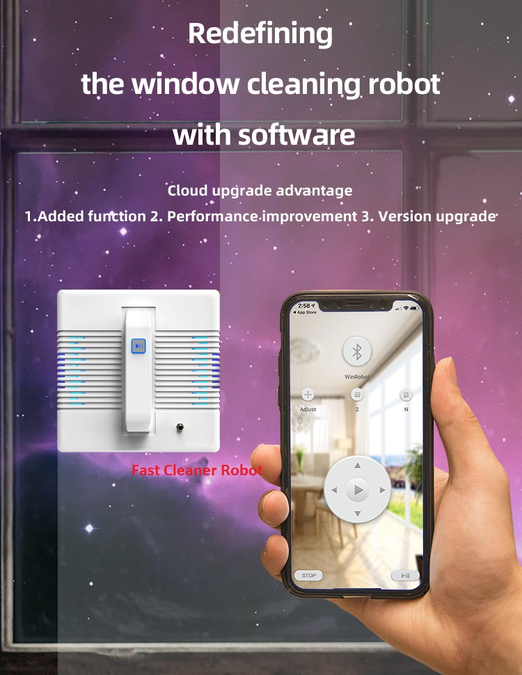 App Control Robot Window Cleaner and High-Altitude Window Cleaning Robot with Path Planning 16