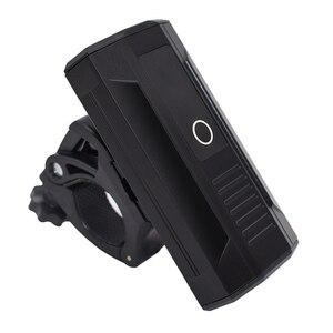 NEW-L2 светильник на голову для велосипеда, перезаряжаемый через USB, 5200 мАч, велосипедный передний светильник, лампа IPX65, водонепроницаемый вел...