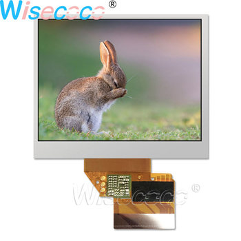 Wisecoco 3.5 Inch LQ035Q3DG03 TFT LCD Screen 320×240 Display 50 pins FPC for Handheld & PDA