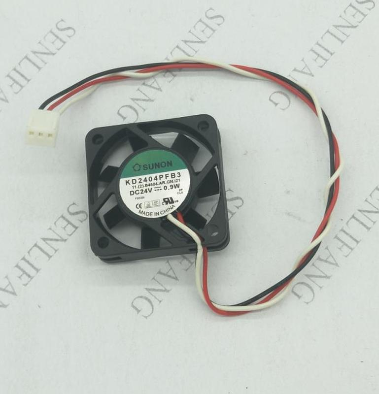 Free Shipping For Sunon KD2404PFB3 B4504.AR.GN.I21 DC 24V 0.9W 40x40x10mm Server Square Fan 3-Wire