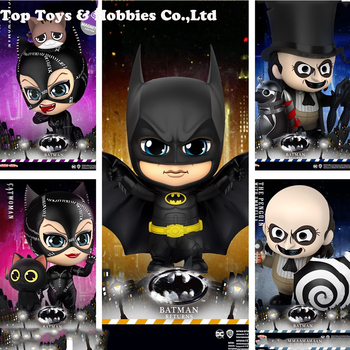 цена In stock Hot Toys COSBABY Batman Returns Catwoman Mini Figure Collectible Dolls Presale Action Figure toys for gift онлайн в 2017 году