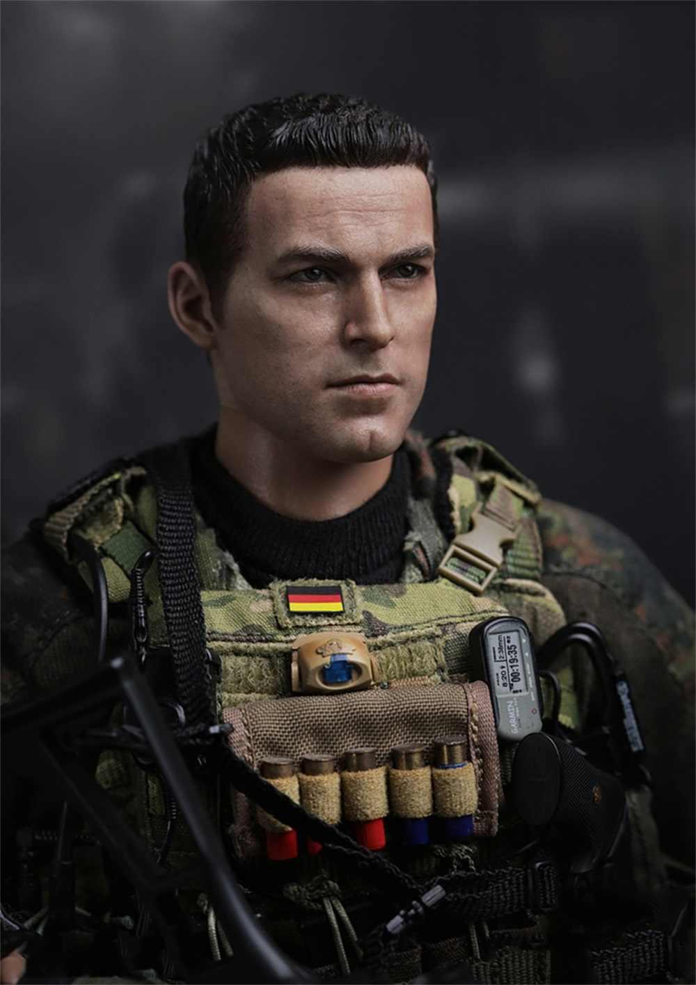DAM 1//6 SCALE GERMAN KSK Kommando Spezialkrafte ASSAULTER Casque Set 78037