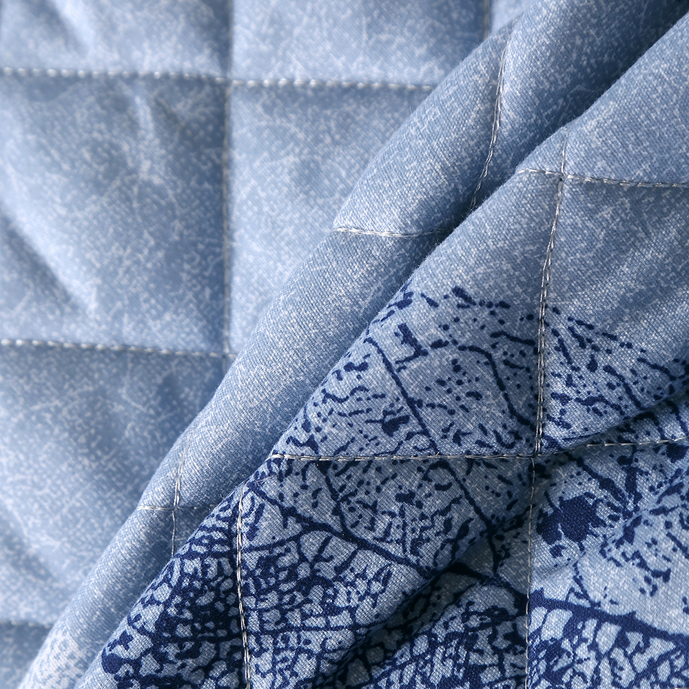 3D Blau/Weiß/Grau Lassen Gedruckt Luxus Sommer Kühl Quilt 3 Stück Mikrofaser Mädchen Cartoon Tröster Hause Luft conditioner Quilt - 3