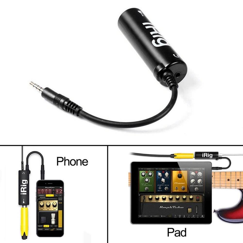 Replace Guitars With New Phone Guitar Interface Converters For Irig Mobile Effects Guitar Effects Move Guitar Effects