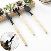3 шт Мини diy портативный садовый инструмент лопата грабли Лопата