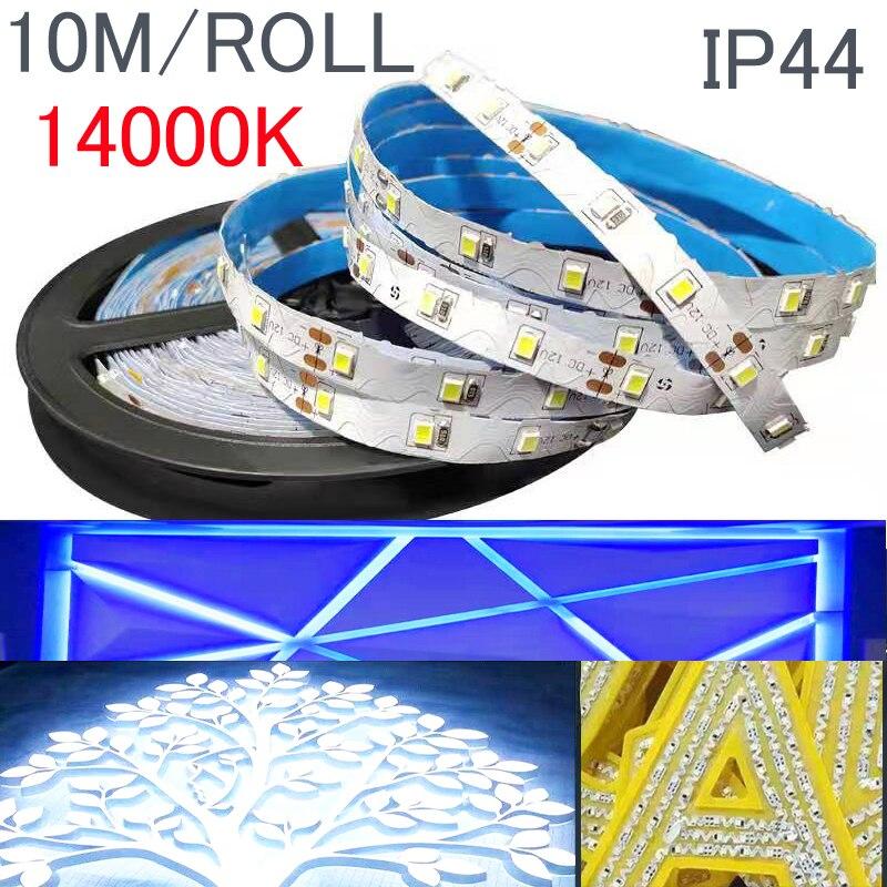 Tira impermeable S 2835 smd rgb led 12v 10M 5m 3M 2M blanco cálido adpter cinta direccionable luz led de repuesto 5050 5630 120 Tira de LED RGB impermeable 5050 5M 10M 15M 20M 30M DC 12V RGBWW RGBW tiras de luz LED flexibles agregar controlador amplificador de potencia