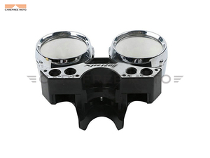 Image 4 - Chrome Motorcycle Speedometer Cover Moto Speed Gauge Shell Case for Yamaha XJR1200 XJR 1200 1993 1998