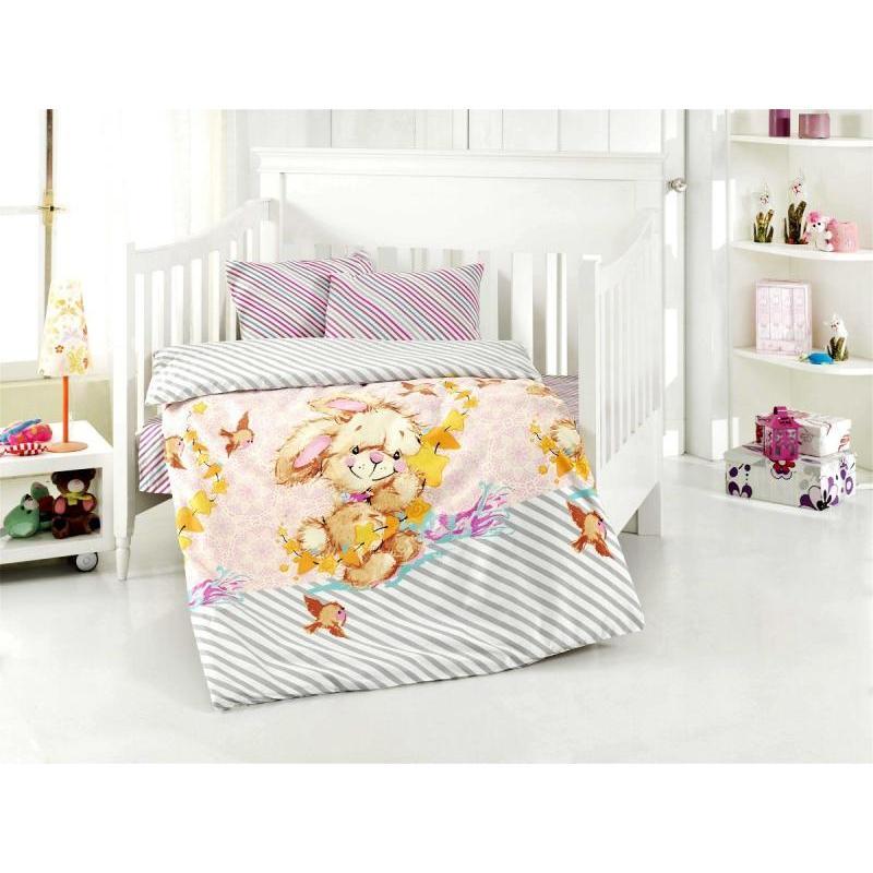 Фото - Bedding Set for baby ALTINBASAK, PAMUK, lilac bedding set for baby altinbasak dream garden