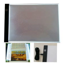 Huacan A4 A5 Diamond Painting LED Light Tablet Pad Tool Diamond Mosaic Accessories Three Level Dimmable