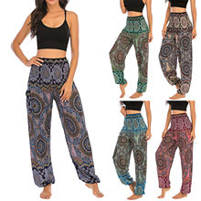 Pantalon de Yoga pour hommes et femmes, style bohème thaïlandais, sarouel, style Boho, taille haute, style Hippy, @ 40