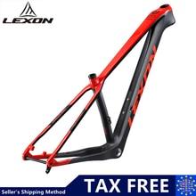 T1000 karbon MTB rama 29er chiński Lexon pełna rama karbonowa dla rowerów górskich Bicicletas 29 BSA MTB węgla rowerów ramek