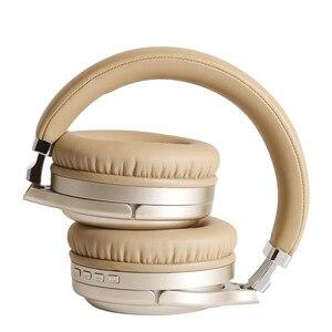 Image 4 - ANC سماعات بلوتوث نشط إلغاء الضوضاء سماعات رأس لاسلكية قابلة للطي ايفي عميق باس سماعات مع ميكروفون للموسيقى هاتف الكمبيوتر
