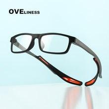 Модные Спортивные очки в оправе для мужчин оптический Баскетбол