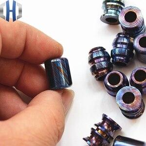 Image 4 - Titanium Mascus EDC Umbrella Rope Pendant Titanium Saber DIY Jewelry Bracelet Zipper Pendant