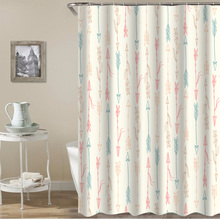 Japanese fresh flower pattern printing bathroom shower curtain bathroom partition curtain comes with hooks multiple sizes halloween night bats pattern showerproof bathroom curtain