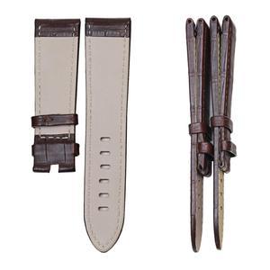 Image 2 - Bracelets de montre en cuir véritable peau dalligator Pesno bracelet de montre en peau de veau marron noir adapté à Montblanc Timewalker Stat