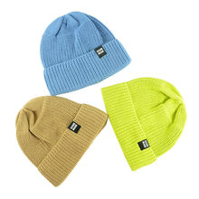 Baby winter warm stretch knit cap Cotton soft hat Toddler knitted beanies kids beanie boy handmade H220S