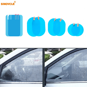 Car Rearview Mirror Protective Anti Fog Car Mirror Window Clear Film Film Waterproof Car Sticker 2 Pcs/Set(China)