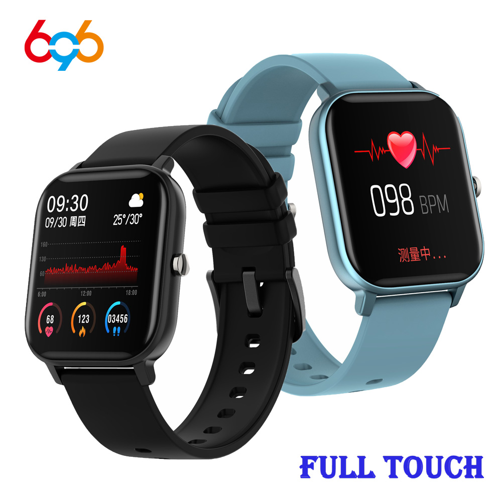 P8 Fitness Tracker Bracelet P8 Smart Watch Men Women 1.4 Inch Full Touch SmartWatch Heart Rate Monitoring Sports Watches PK B57