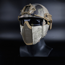 Mesh-Mask Paintball-Masks Ear-Protection Shooting Airsoft Military Nylon with for CS