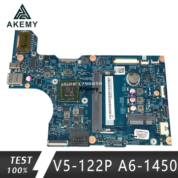 V5-122 motherboard ACER V5-122P Laptop Motherboard 12281-1 With A6-1450 CPU 2GB RAM NBM8W11001 48.4LK03.01 100% Tested