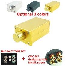 SMD Dact סוג 21 נכנס מחליש נפח שליטה פסיבי מגביר preamp amp HIFI אודיו 10k 20k 50k 100k