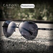 نظارات شمسية للرجال من CAPONI Pilot موديل 2020 نظارات شمسية رجالية بأشعة فوق بنفسجية مقصوصة عدسات مستقطبة للقيادة نظارات شمسية للرجال BS9812