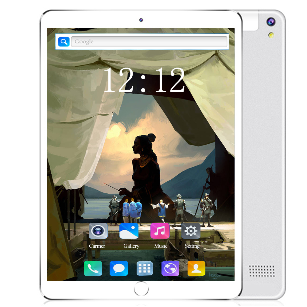 6GB+128GB Tablet PC 10 Inch Android 8.0 OS Octa Core Dual SIM Card 3G/4G LET Phablet 1280*800 IPS WIFI Bluetooth Tablets 10 10.1