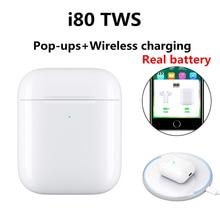 New i80 TWS mini Bluetooth earphone 1:1 air 2 Wireless Headp