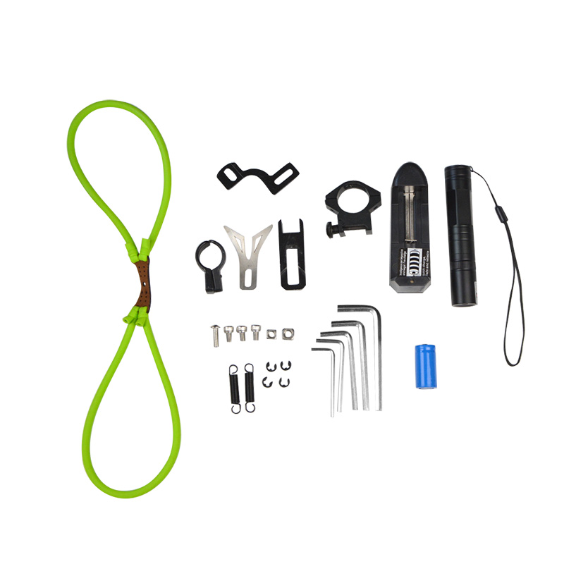 1 Set Archery High Precision Fishing Slingshot Shooting Fish Artifact Professional Novice Hunting Shooting Accessories in Darts from Sports Entertainment
