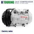 Для автомобиля Mitsubishi DR1015C 10P15C AC компрессор для Mitsubishi L300/Delica 4D56 MR175655 CSA201A148 447200-7744 4472007744 1PK