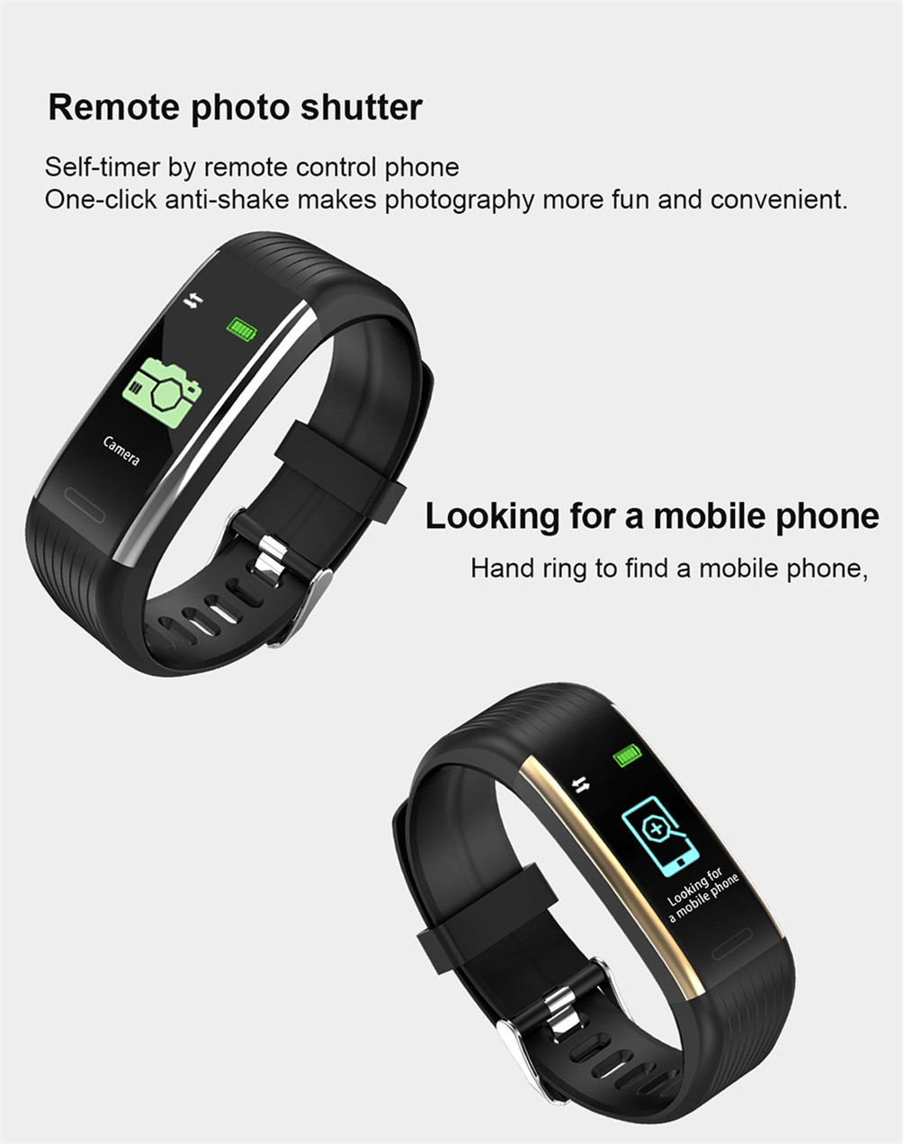 Hee0c8ce9bc6c40c0aeb98a5c6f7862eeh 2020 Smart Wristband Fitness Bracelet Blood Pressure Measurement Smart Bracelet Heart Rate Waterproof Pedometer Smart Band Watch