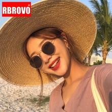 RBROVO 2019 Classic Street Beat Retro Sunglasse Mirror Round Eyeglasses Men Brand Design Glasses Driving Oculos De Sol
