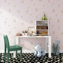 Cute cartoon bear 3D embossed non-woven wallpaper children's room boys girls boys bedroom blue environmental protection TV wall environmental protection non woven wallpaper children s room cartoon color lovely dot wall paper 3d boys and girls bedroom decor
