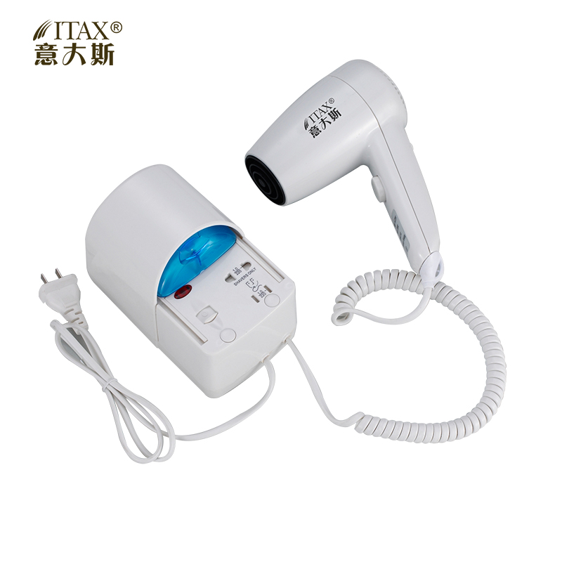 X-7738 Hotel ABS plastic wall mounted unfodable electric hair dryer