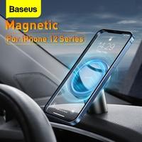 Baseus-soporte magnético de teléfono móvil para coche, accesorio Universal para iPhone 12 Pro Mini, rejilla de ventilación