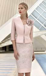 2020 Элегантные платья для матери невесты 3/4 вечернее платье для гостей на свадьбе с длинными рукавами кружевное платье для мамы с