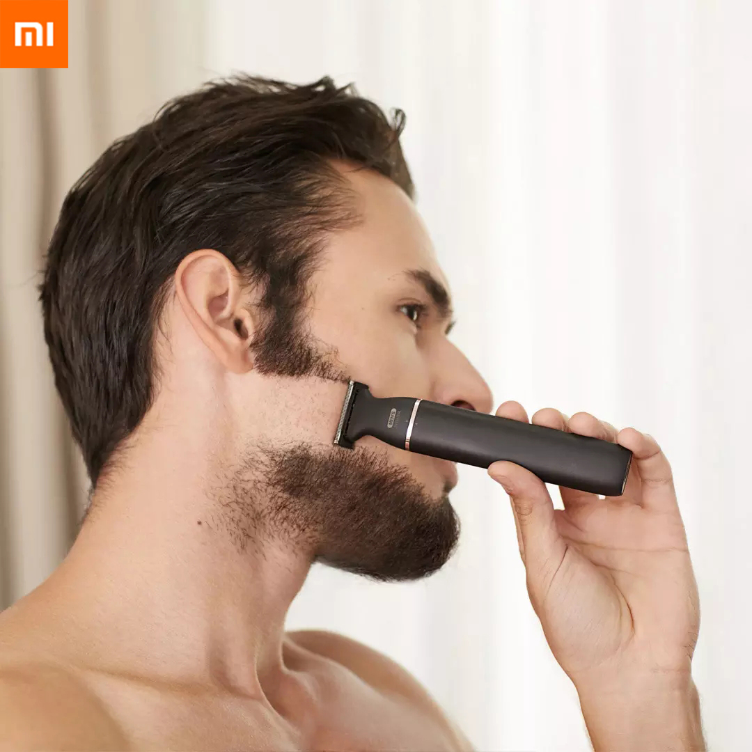 New Xiaomi SOOCAS Electric Razor Small T-Blade Black Three-way Blade For Fast Shaving Dry And Wet Double Shaving Fast Charge