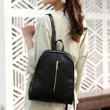 Fashion Women Backpack High Quality PU Leather School Leather Backpacks For Teenage Girls Teen Girls
