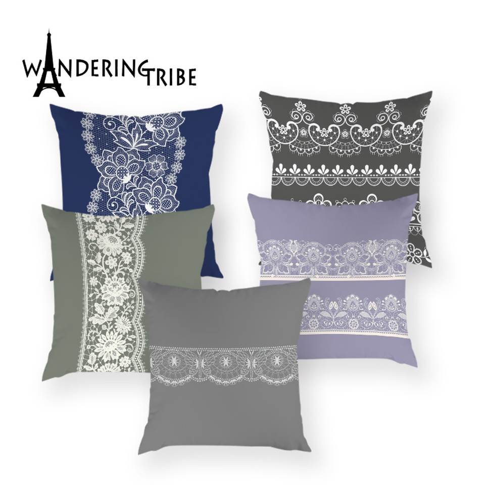 Retro Style Farm Crop Animals Decorative Printing Sofa Pillow Case Cushion Cover
