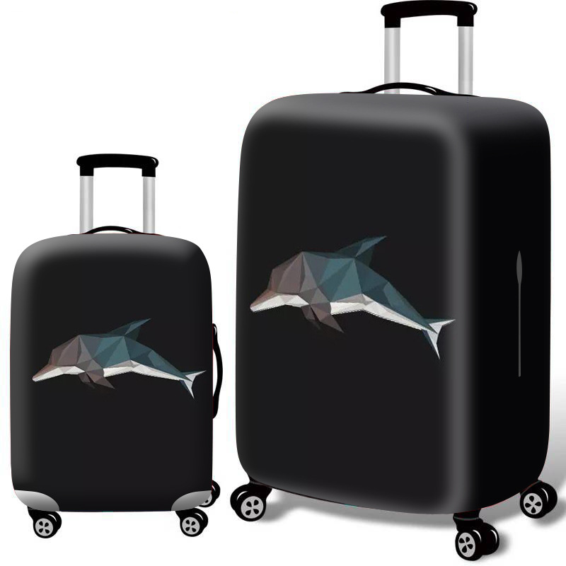 Luggage Cover Suitcase Protective Cover For 18-32 Inch Elastic Trolley Case Dust Cover Travel Accessories Baggage Cover