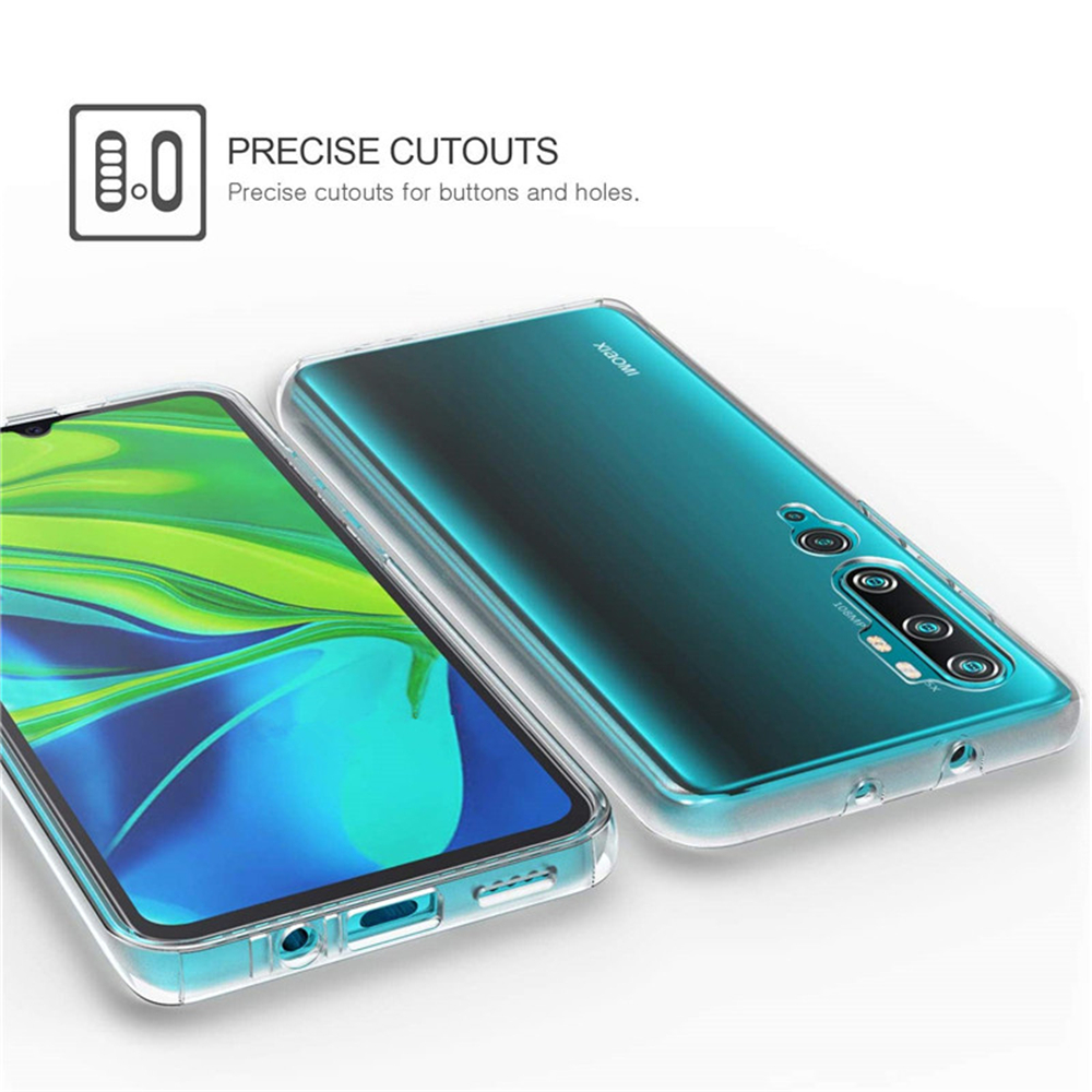 360 Degree Phone Case For Xiaomi Redmi Note 10 9S 9 Pro Max 5G 9A 9C 8 8 8A 8T 9T 7A 5A 5 Plus 6A 6 7 Full Body 2IN1Clear Cover
