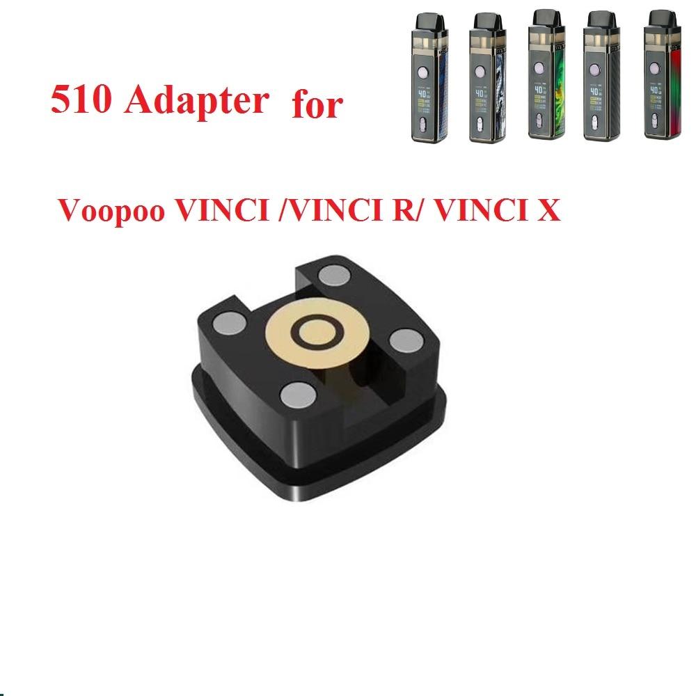 Hot Sale 510 Adapter For Voopoo VINCI /VINCI R/ VINCI X Mod Kit Electronic Cigarette Thread Vape Accessory For Vinci Mod Pod Kit